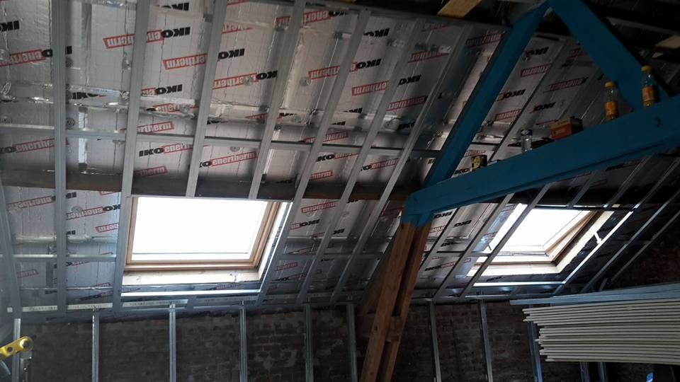 Habillage versants de toiture
