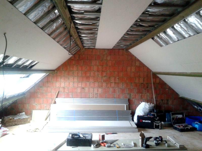 rénovation grenier Saint ghislain